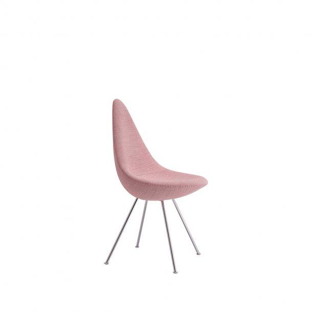 Fritz Hansen - DRÅBEN™ stol 3110 - Tekstil, forkromet stel