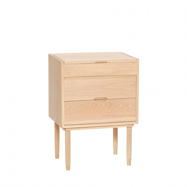 Hübsch - Dresser w/compartments, 2 drawers, oak, nature