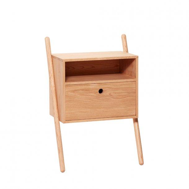 Hübsch - Dresser w/drawer, oak, nature 2 ben- Kommode