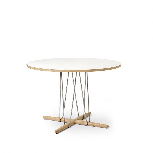 Carl Hansen & Søn - E020 | 1100 bord | eg | Hvid bordplade