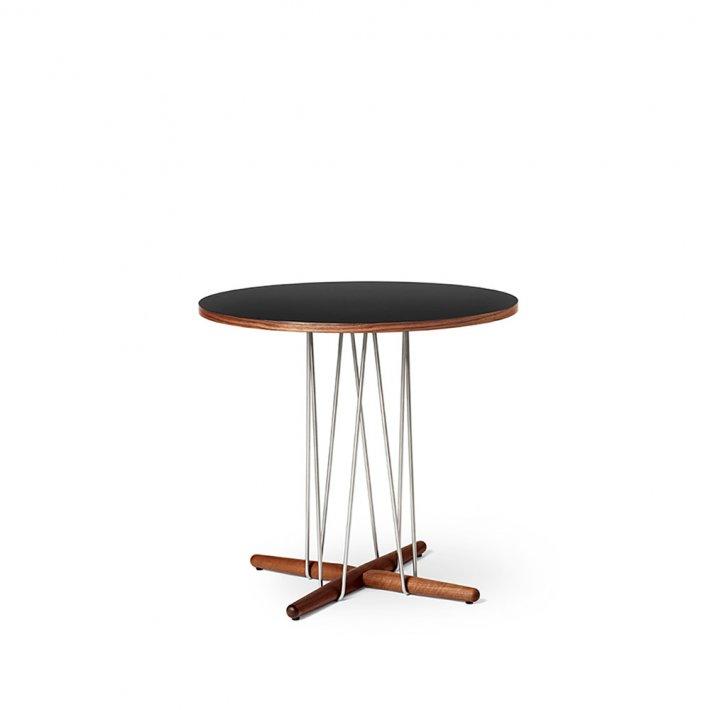 Carl Hansen & Søn - E020 | 795 bord | valnød | Sort bordplade