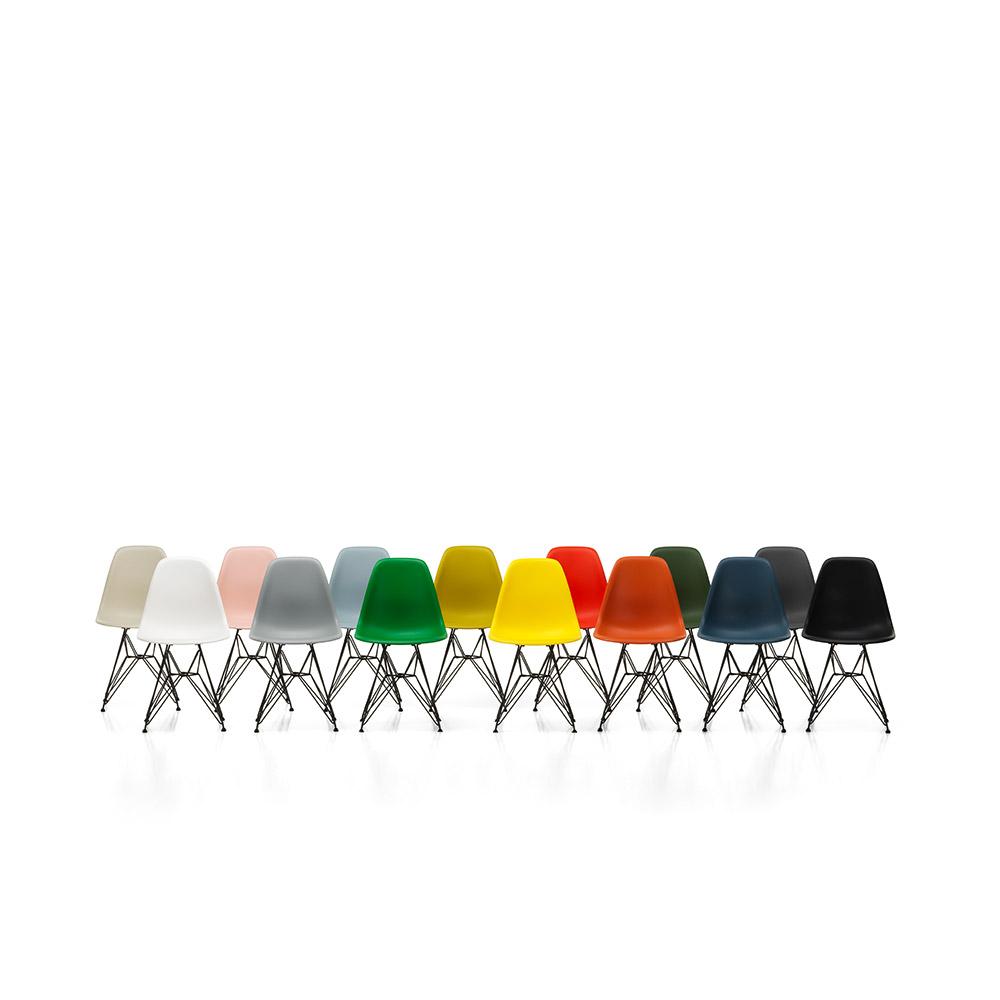 Vitra Eames Plastic Side Chair DSR   Pulverlakeret