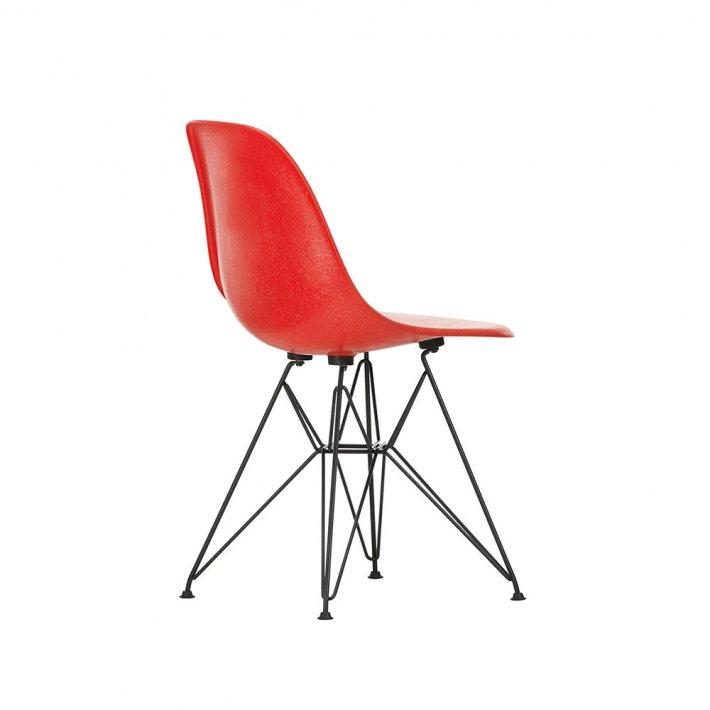 Vitra - Eames Fiberglass Side Chair DSR | Pulverlakeret