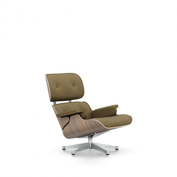 Vitra - Eames Lounge Chair - Hvidpigmenteret valnød