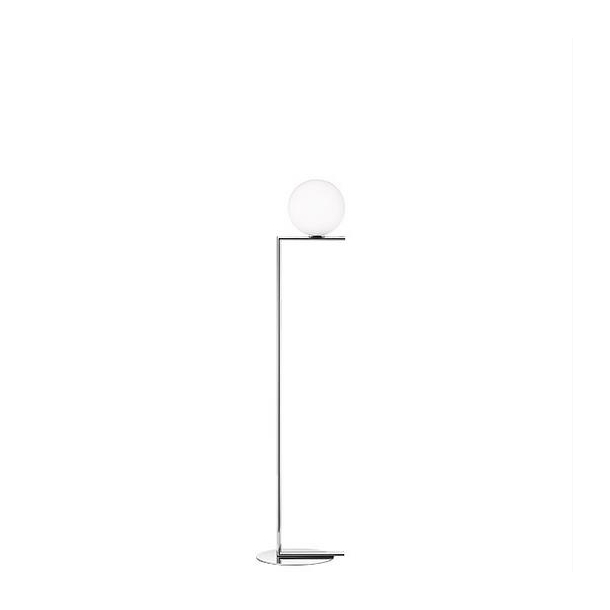 Flos - IC light F1 - Standerlampe - lille - krom