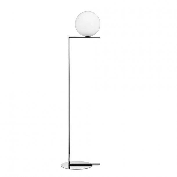 Flos - IC light F2 - Standerlampe - stor - krom
