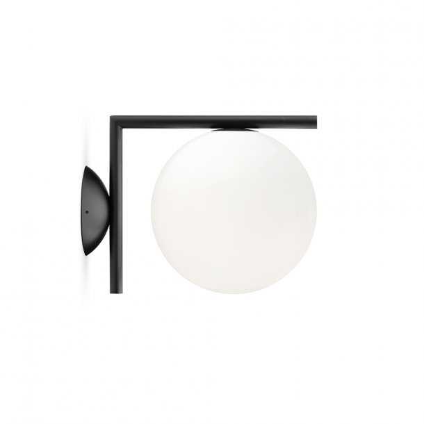Flos - IC light C/W1 | Væglampe | lille | Sort