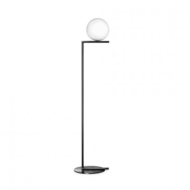 Flos - IC light F1 | Standerlampe | lille | Sort