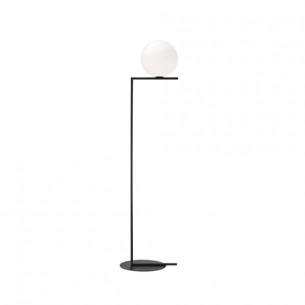 Flos - IC light F2 - Standerlampe - Stor - Sort