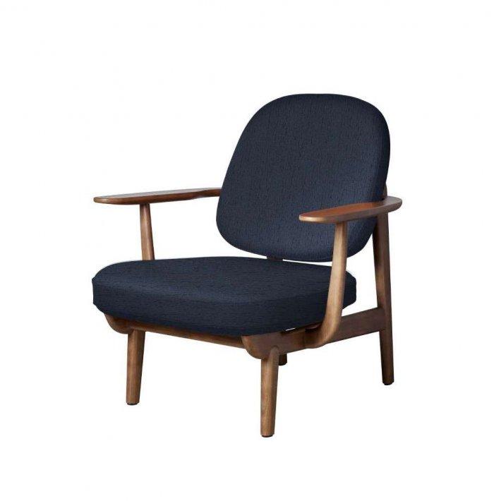 FRED™ loungestol - Valnødfarvet eg