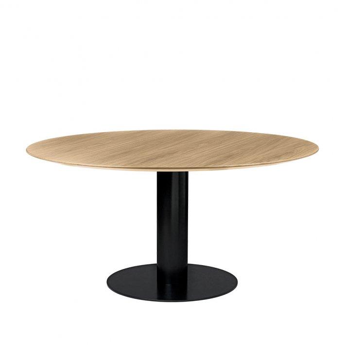 Gubi - 2.0 Dining table | Ø150, sort