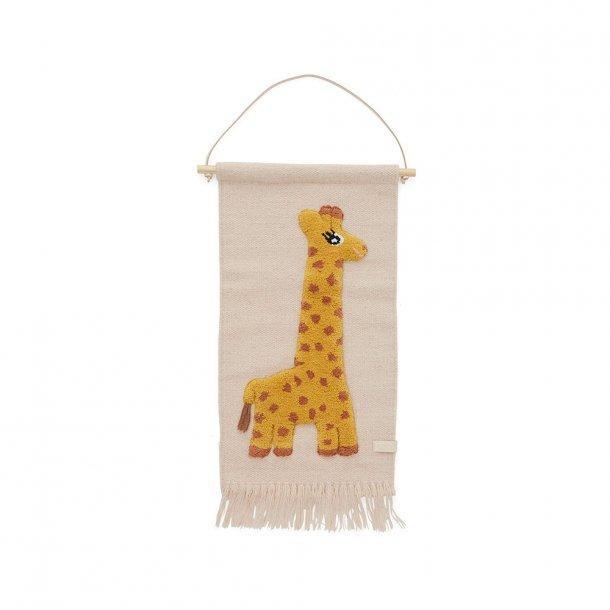OYOY - Giraffe Wallhanger - Giraf  VÆGTÆPPE