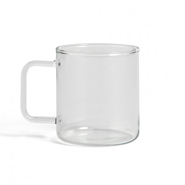 HAY - Glass Coffee Mug - Krus