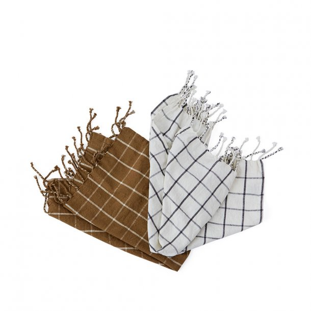 OYOY - Gobi Tea Towels - ROSA / rubber