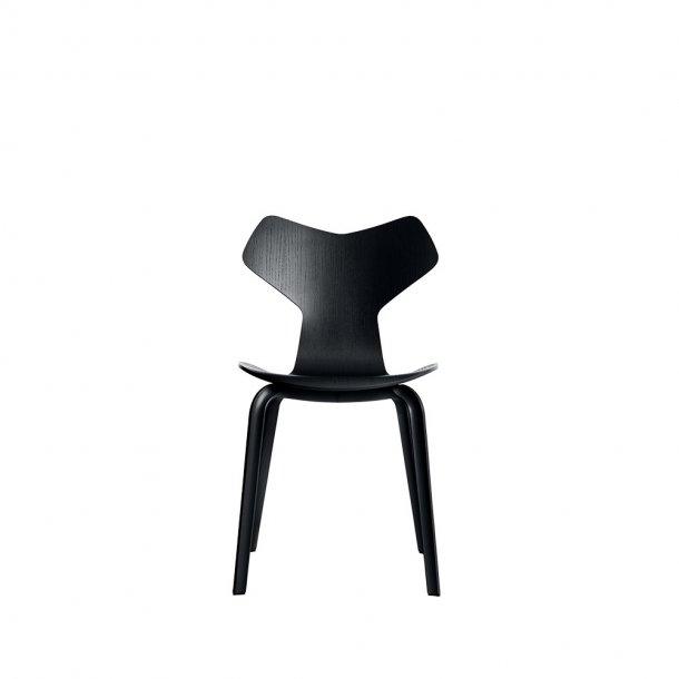 Fritz Hansen - GRAND PRIX™ stol 4130 - Farvet ask, træben