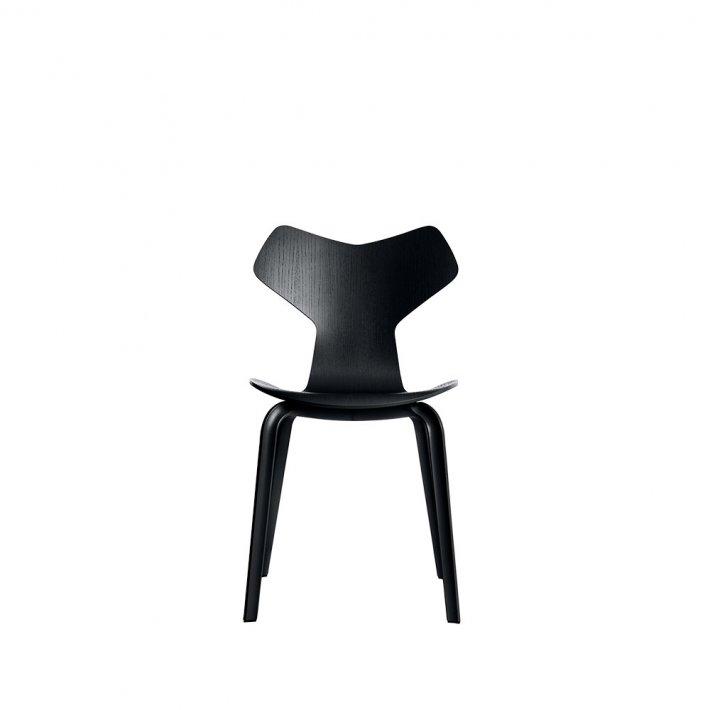 GRAND PRIX™ stol 4130 - Farvet ask, træben