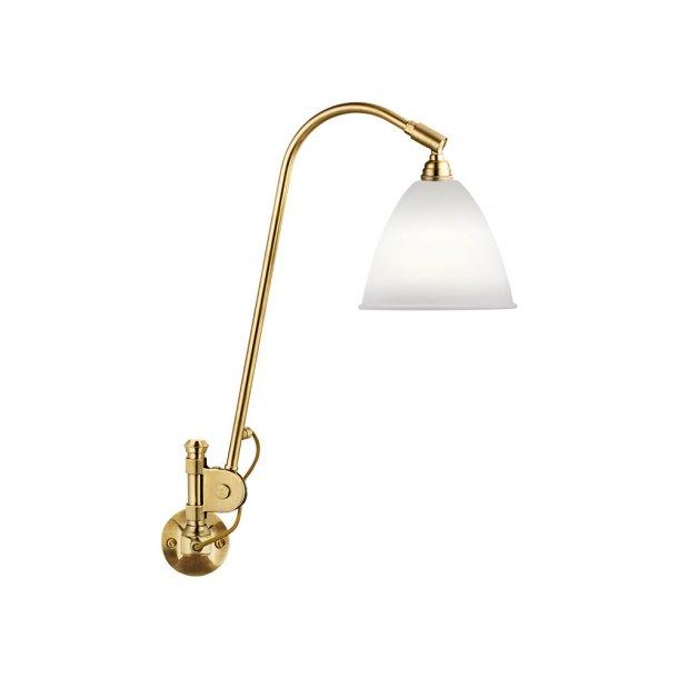 Gubi - Bestlite BL6 væglampe | Messing