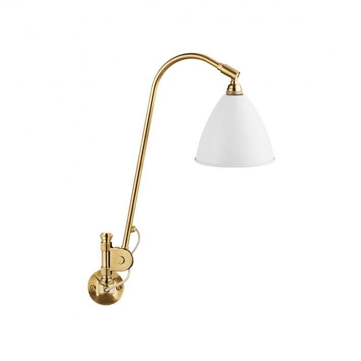 Bestlite BL6 væglampe - Messing