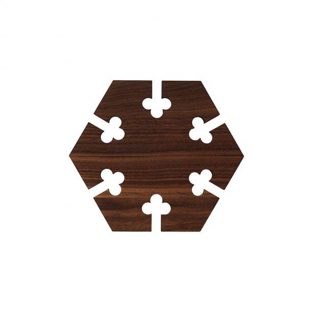 WARM NORDIC - Gourmet Wood bordskåner | Hexagon
