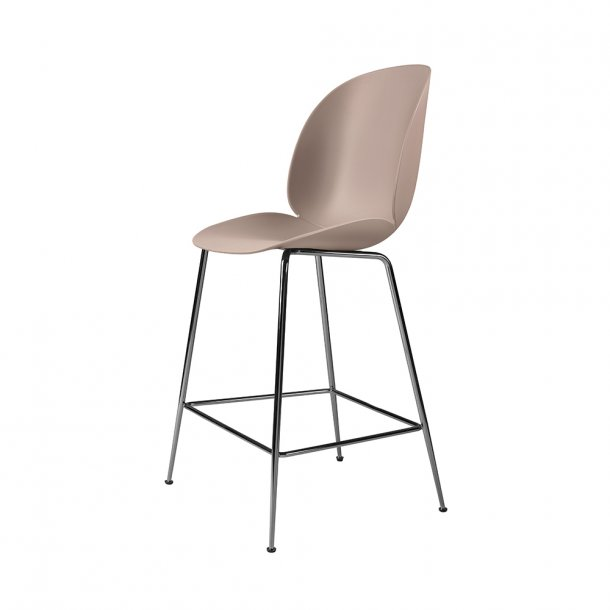 Gubi - Beetle Counter Chair H63 | Uden Polstring