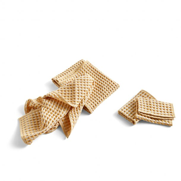 Hay - Twist | Dish cloth and towel | 4 pcs.