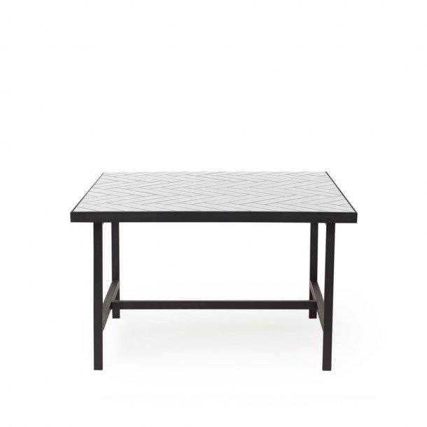 WARM NORDIC - Herringbone Tile sofabord