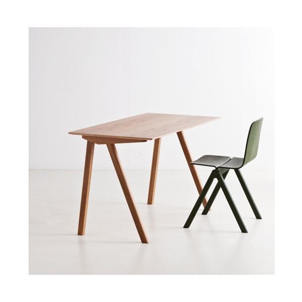 HAY - Copenhague skrivebord CPH90 - L130 cm Sortbejdset eg Sortbejdset eg