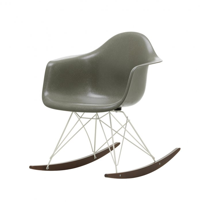 Vitra - Eames Fiberglass Armchair RAR | Pulverlakeret | Ahorn