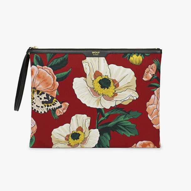 Wouf - Jardin - Canvas XL clutch