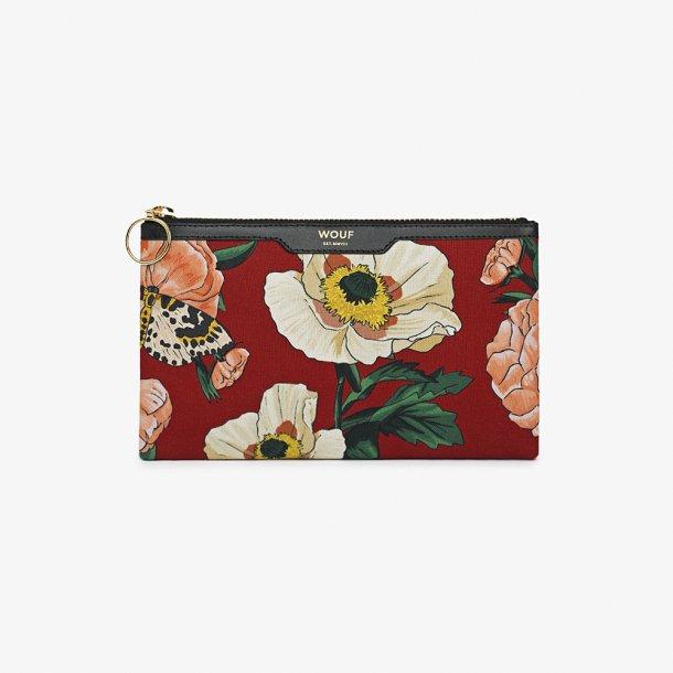 Wouf - Jardin - Canvas pocket clutch