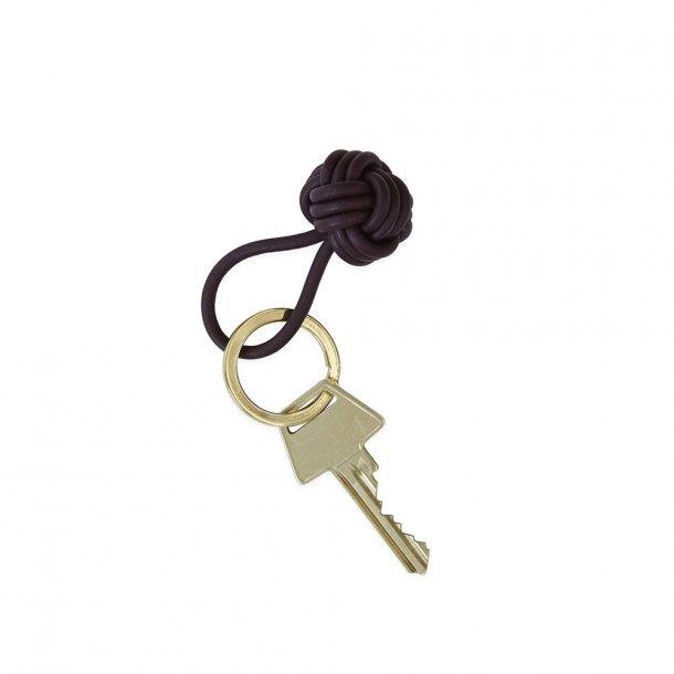 OYOY - Keyring Knot Bordeaux | nøglering
