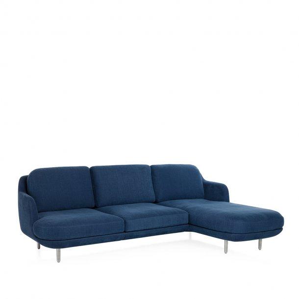 Fritz Hansen - LUNE™ sofa JH301 - 3-pers., chaiselong venstre