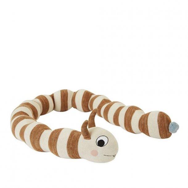 OYOY - Leo The caterpillar - Teddy bear - pillow