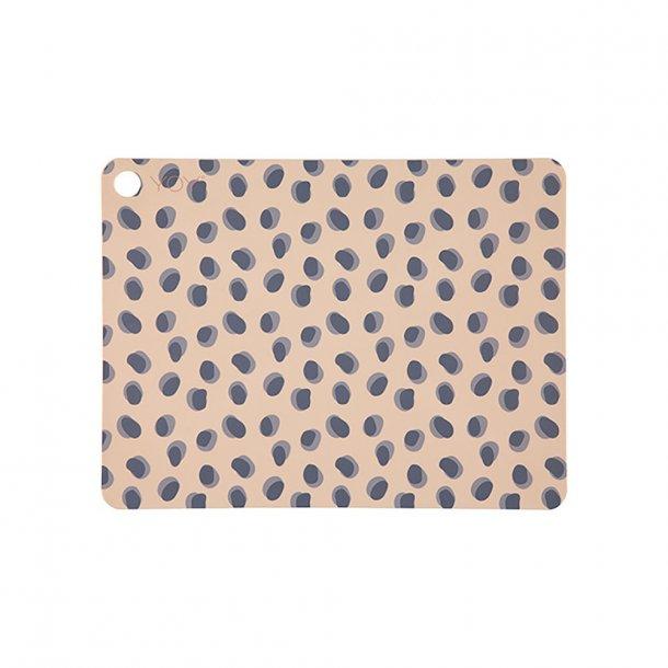OYOY - Leopard Dots Placemats - Spisebrikker 2 stk