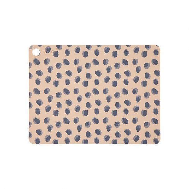 OYOY - Leopard Dots Placemats - Dækkeservietter 2 stk