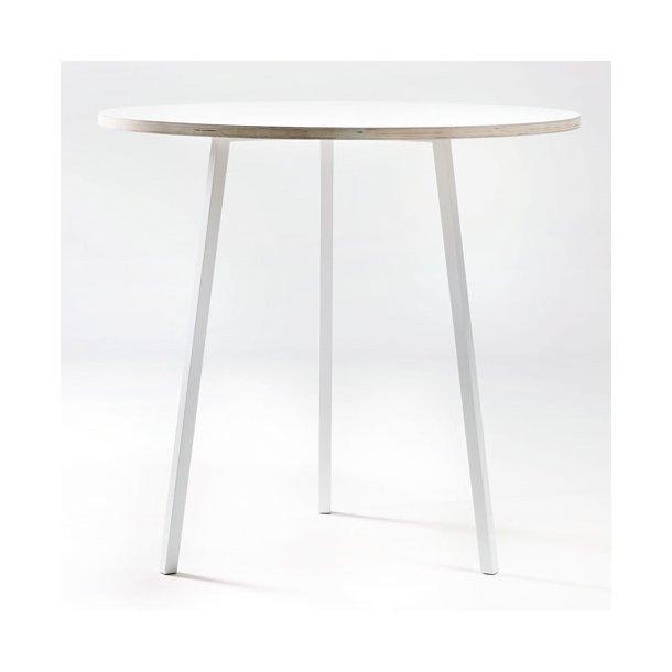 HAY - Loop Stand Round Table - Hvid Bord