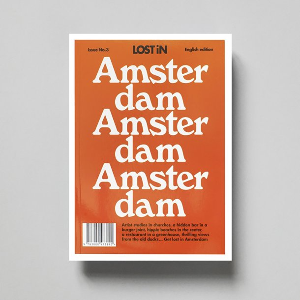 OUTLET - New Mags | Lost In Amsterdam | Bog*
