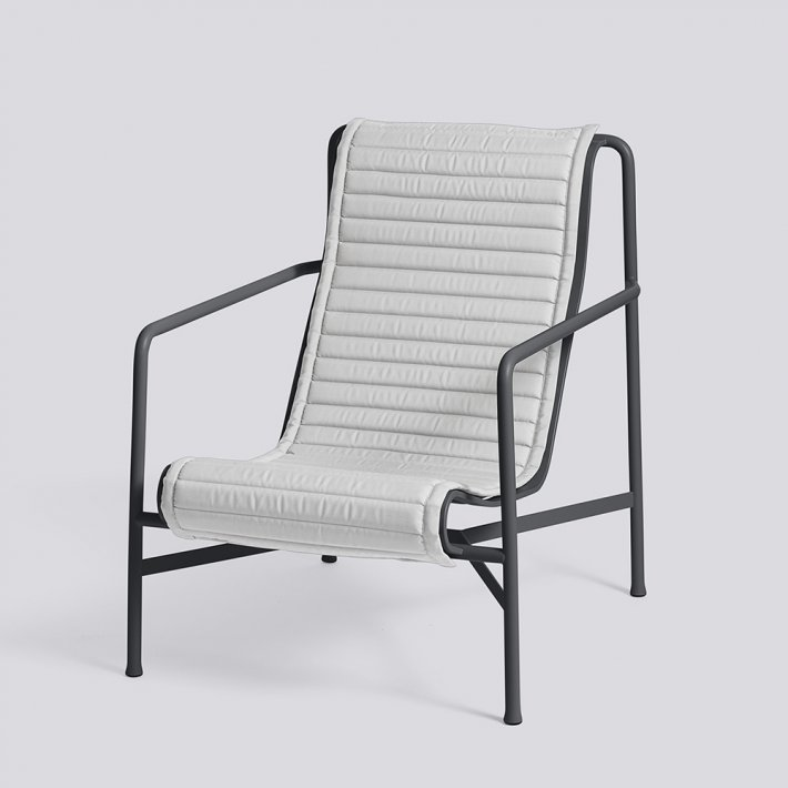 Palissade Lounge Chair High Quilted Cushion - Hynde
