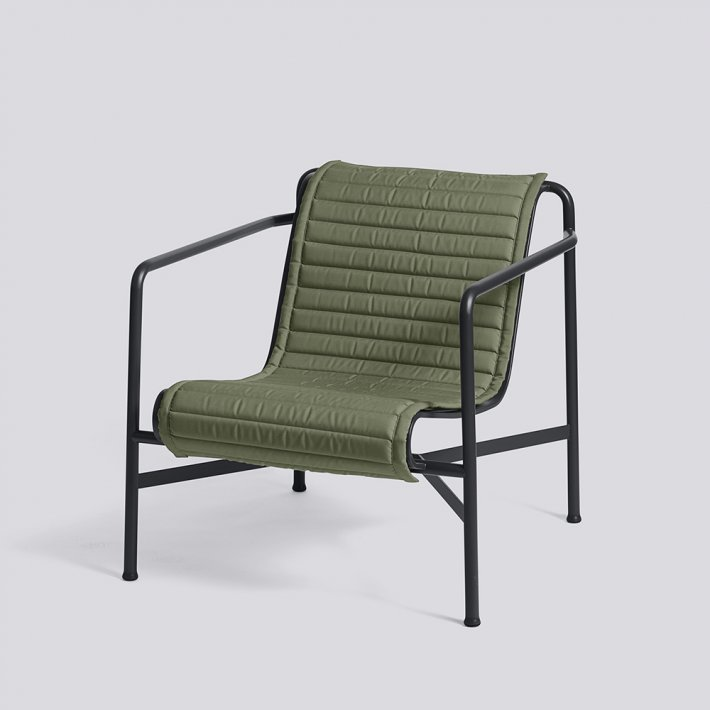 Palissade Lounge Chair Low Quilted Cushion - Hynde