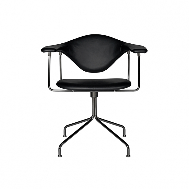 Gubi - Masculo Meeting Chair - Swivel Base