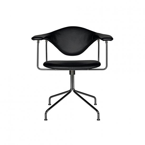 Gubi - Masculo Meeting Chair - Swivel Base