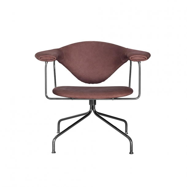 Gubi - Masculo Lounge Chair | Swivel Base