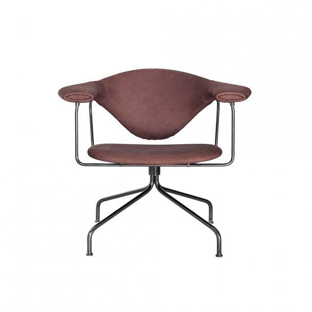 Gubi - Masculo Lounge Chair - Swivel Base