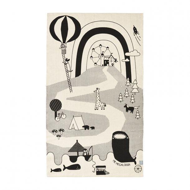 OYOY - Mr. Megalodon Adventure rug - legetæppe