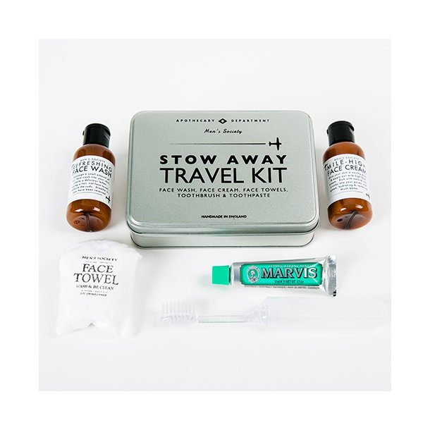 OUTLET - Men's Society - Stow Away Travel Kit*