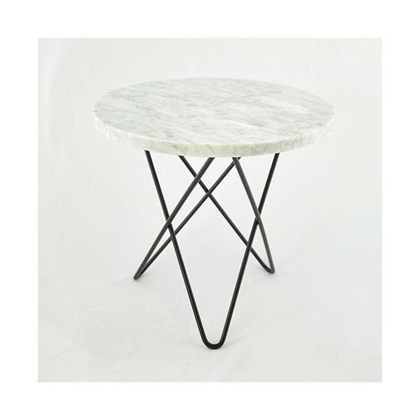 OX Denmarq - Mini O Table - Hvit marmor bord