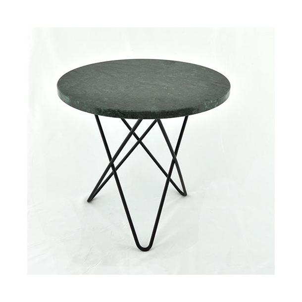 OX Denmarq - Mini O Table - Green marble