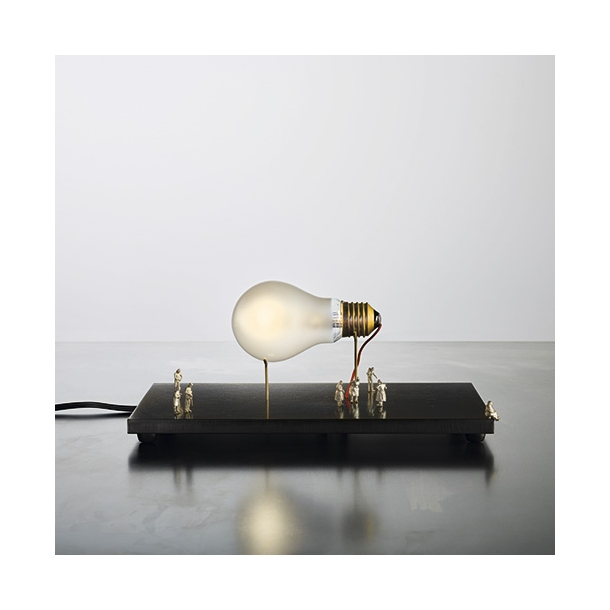 Ingo Maurer - I Ricchi Poveri - Monument for a bulb - Table Lamp