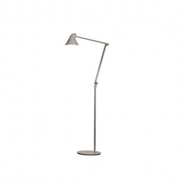 Louis Poulsen - NJP Gulv gulvlampe - Lys alu grå
