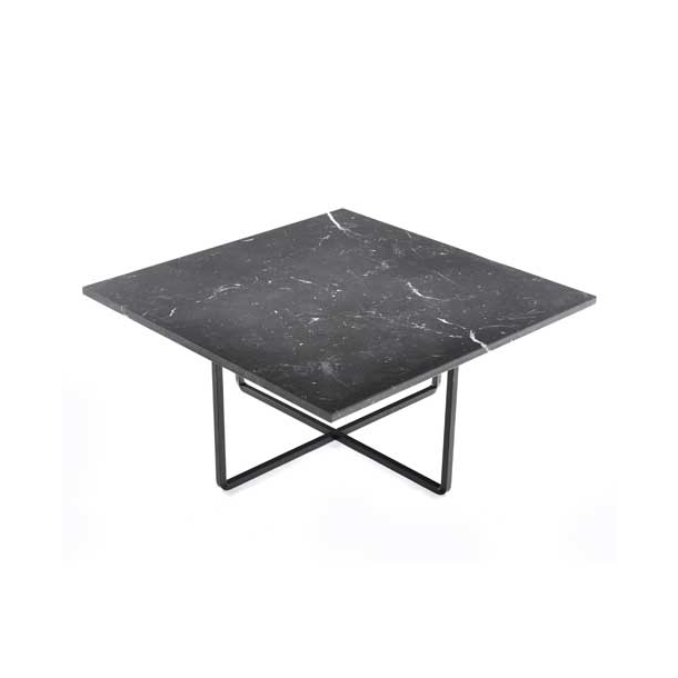 OX Denmarq - Ninety Table 80x80 - Black marble
